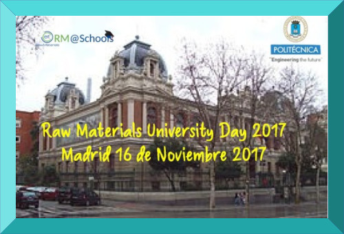 Raw Materials University Day 2017, Madrid (ES)