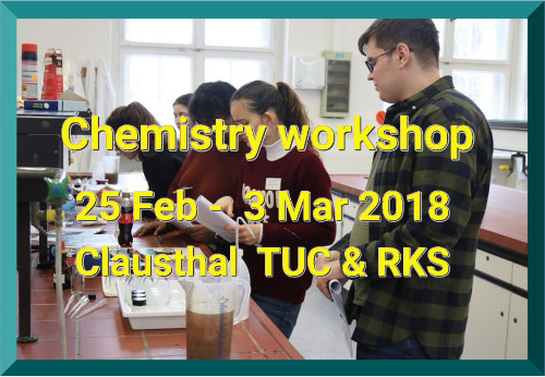 chemistry workshop in Clausthal