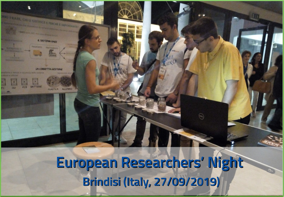 European Researchers' Night ECODOM, Brindisi (Italy)