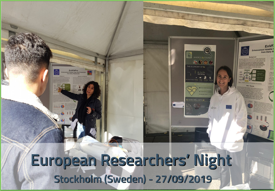 European Researchers' Night in Stockholm