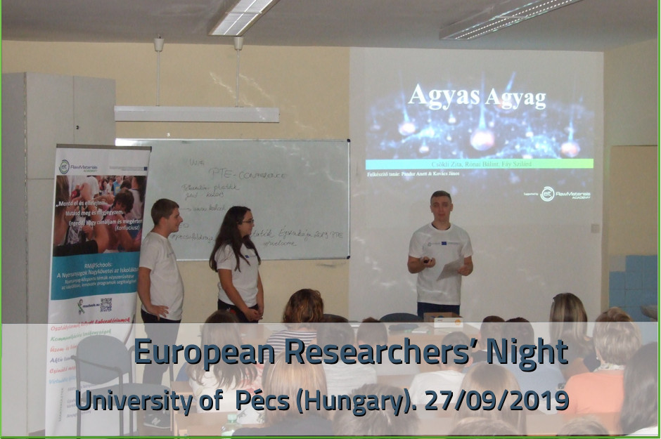 European researchers' night 2019 - ESEE Hungary
