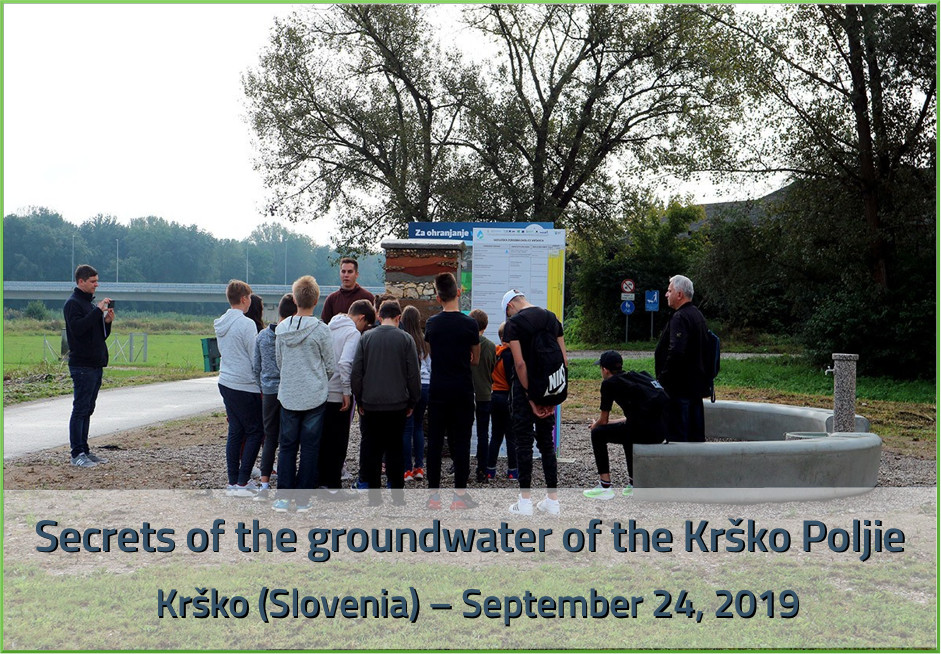 Secrets in groundwater, Slovenia  2019