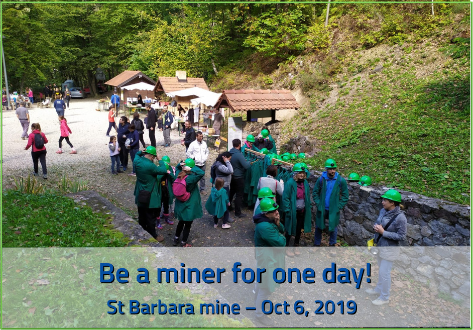 be a miner for one day!