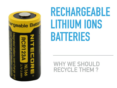 RM in rechargable batteries